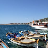 Photo taken at Foça by Gonul O. on 8/22/2012
