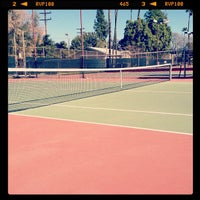 Photo taken at Fremont Park Tennis Courts by C. M. on 1/28/2012