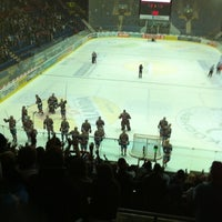 Photo taken at SWISS Arena by Alessandro L. on 10/14/2011
