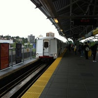 Photo taken at Lougheed Town Centre SkyTrain Station by RN on 5/30/2012