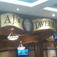 Photo taken at A.J.'s Tavern by Sonia H. on 1/4/2012