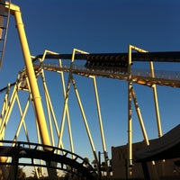Photo taken at Montu by brian b. on 12/28/2010
