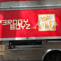 Photo taken at Perogy Boyz by Lisa M. on 5/19/2012