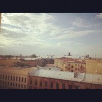Photo taken at Санкт-Петербургский государственный архитектурно-строительный университет (СПбГАСУ) by Leha H. on 6/6/2012