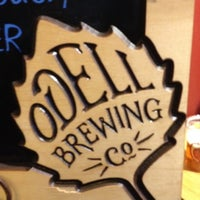 Photo taken at Odell Brewing Company by Brad J. on 4/14/2012