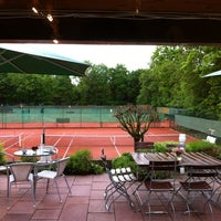 Photo taken at Alexx Tennis am Tivoli by Nick C. on 6/4/2012