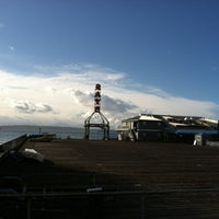 Photo taken at Ray's Boathouse by Wendy J. on 2/22/2012