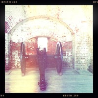 Photo taken at Fort Pulaski by Paddy 🐺🐺 on 7/6/2012