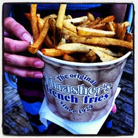 Photo taken at Thrasher's French Fries by Brian S. on 5/26/2012
