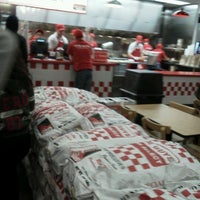 Photo taken at Five Guys Burgers & Fries by Kyle B. on 2/27/2012