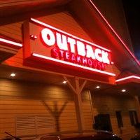 Photo taken at Outback Steakhouse by Rodrigo V. on 7/1/2012