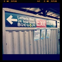Photo taken at MTA Subway - Ozone Park/Lefferts Blvd (A) by Lilibeth on 7/4/2012