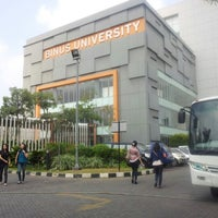 Photo taken at BINUS University by David K. on 8/31/2012
