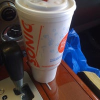 Photo taken at SONIC Drive In by Yvonne T. on 8/3/2012