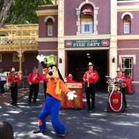 Photo taken at Disneyland Fire Department No. 1 by Sean R. on 3/11/2012