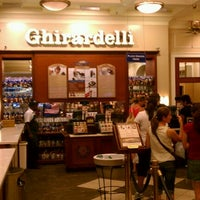 Photo taken at Ghirardelli Ice Cream & Chocolate Shop by Andrew on 7/23/2011