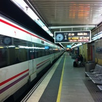 Photo taken at RENFE Passeig de Gràcia by Josep M. M. on 11/27/2011