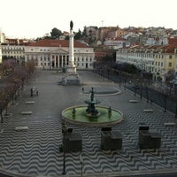 Photo taken at Rossio Square by MeLL on 5/11/2011