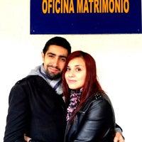 Photo taken at Registro Civil by Sebastian on 8/1/2012