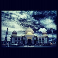 Photo taken at Masjid Agung An-Nur by anden p. on 4/5/2012