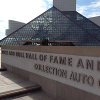 Photo taken at Rock & Roll Hall of Fame by Pam H. on 8/12/2012