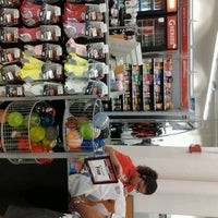 Photo taken at Sports Authority by Drastic F. on 3/12/2012