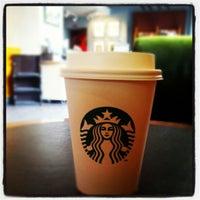 Photo taken at Starbucks by Mostafa M. on 9/3/2012