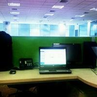 Photo taken at Telkomsel  BSD by Abang I. on 3/20/2012