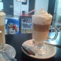 Photo taken at Cafe De La Avenida by Jorge S. on 3/15/2012