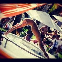 Photo taken at Space Beach Club by Irina on 8/25/2012