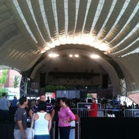 Photo taken at Sprint Pavilion by Ryan M. on 7/14/2012