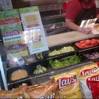 Photo taken at Subway by Vinni M. on 4/10/2012