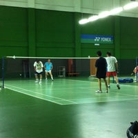 Photo taken at BJGCR Badminton Court by Ysoon N. on 5/19/2012