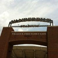 Photo taken at Vanderbilt Stadium - Dudley Field by Sabreana S. on 6/17/2012