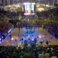 Photo taken at Cameron Indoor Stadium by Elissa O. on 10/14/2011