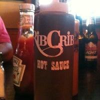 Photo taken at RibCrib BBQ & Grill by Kim S. on 10/29/2011
