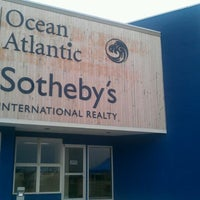 Photo taken at The Oldfather Group of Ocean Atlantic Sotheby's by Dustin O. on 9/10/2011