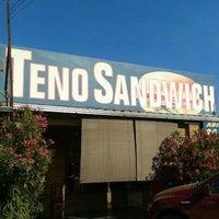 Photo taken at Teno Sandwich by Félix Eduardo J. on 1/29/2012