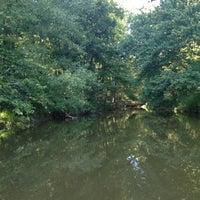 Photo taken at Lake Johnson by Cat on 9/12/2012