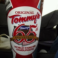 Photo taken at Original Tommy's Hamburgers by Amanda T. on 1/21/2012