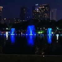 Photo taken at Kuala Lumpur City Centre (KLCC) Park by Charles J. L. on 9/1/2012