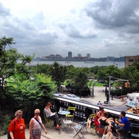 Photo taken at High Line 10th Ave Amphitheatre by Eduardo M. on 7/15/2012