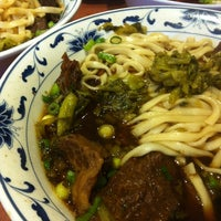 Photo taken at Lao Shan Dong Homemade Noodle House by Flo Tea Room on 4/2/2012