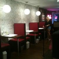 Photo taken at Blush Nail Lounge by Hannah R. on 9/26/2011