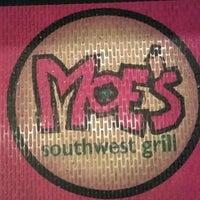 Photo taken at Moe's Southwest Grill by Branden B. on 9/27/2011