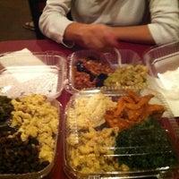 Photo taken at NuVegan Café by Arielle K. on 8/22/2012