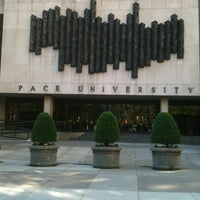 Photo taken at Pace University by Nancy G. on 5/19/2012