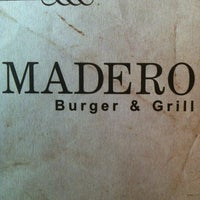 Photo taken at Madero Burger & Grill by João W. on 3/20/2012