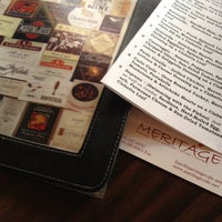 Photo taken at Meritage by Candice S. on 8/16/2012