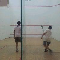 Photo taken at Squash Court @ Catholic High School by Jack T. on 9/14/2011